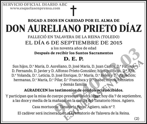 Aureliano Prieto Díaz